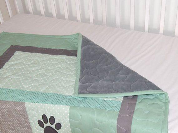 Ropa de cama de bebé muchacho cachorro del edredón perro