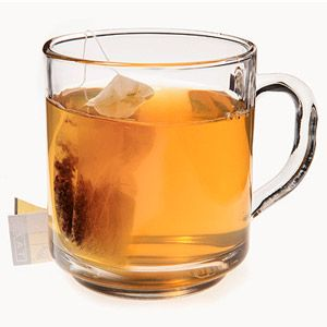 Best wedding-day sip: herbal tea. It'll keep you hydrated and help calm pre-ceremony jitters