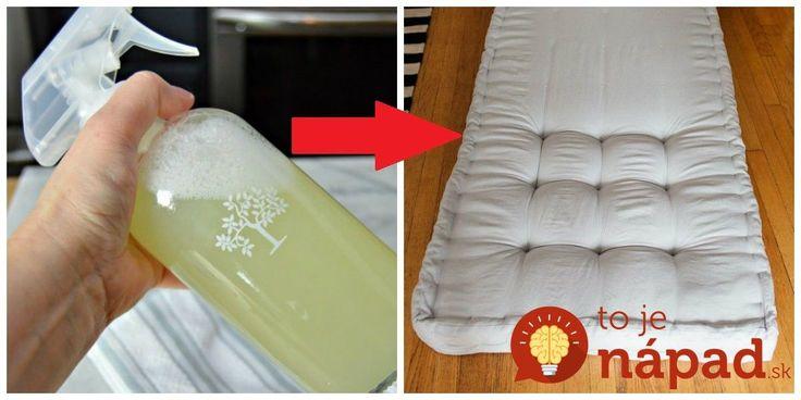 Tento čistič som objavila minulý rok a odvtedy som s ním vyčistila všetky matrace u nás doma a ešte aj u mamy. :-D Matrace budú vydezinfikované a funguje to aj na škvrny od moču, potu či od jedla. Navyše, s týmto čističom ušetríte, výroba vás vyjde len na pár drobných.