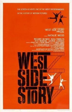 Films with fashion influence - 1961 West Side Story poster