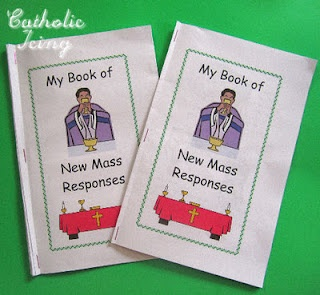 New Mass Responses Booklet for Kids – Free to Print!
