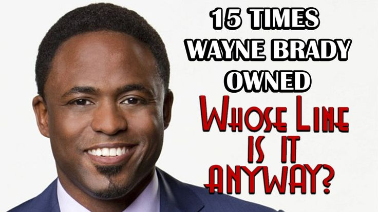 "15 Times Wayne Brady Owned ""Whose Line Is It, Anyway?"""