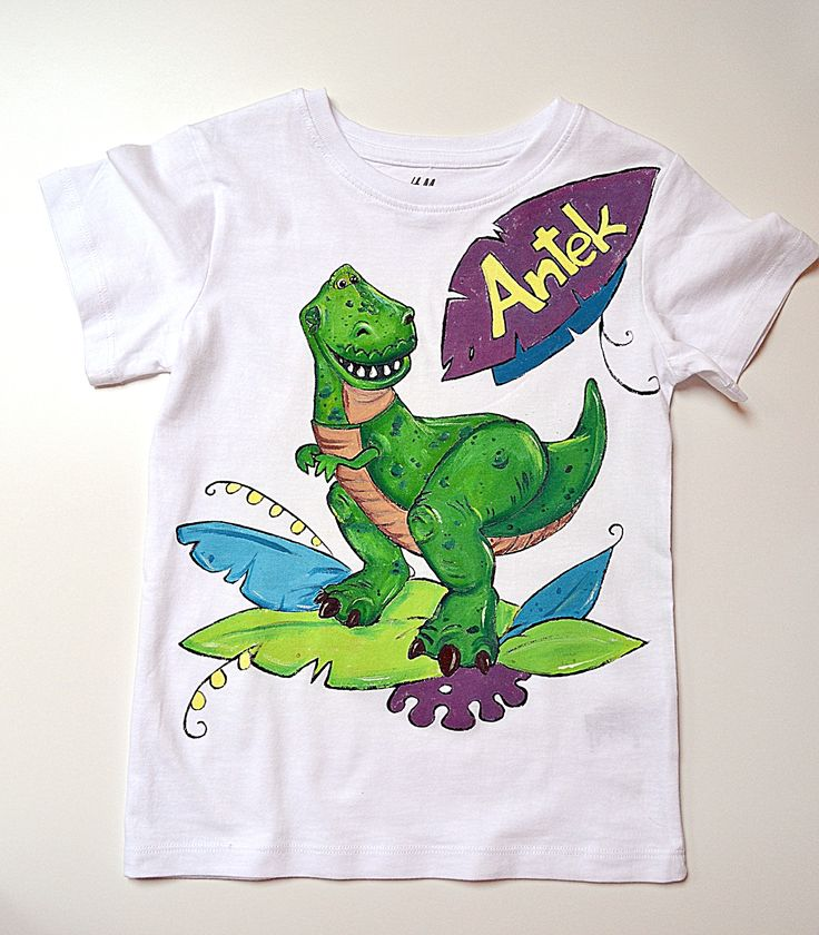 T-rex personalized t-shirt for kid
