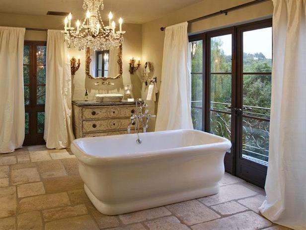 I love the tile floorBathroom Design, The Doors, Elegant Master, Dreams Bathroom, Cool Bathtubs, Elegant Bathroom, Bubbles Bath, Master Baths, Master Bathroom