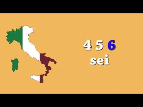 Leren tellen in het Italiaans tot 10: eenvoudig voor beginners! - YouTube