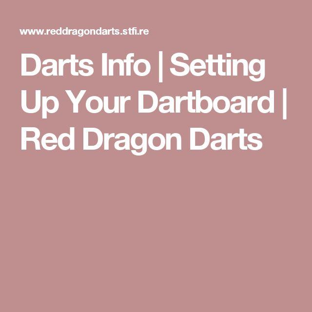 Darts Info | Setting Up Your Dartboard | Red Dragon Darts