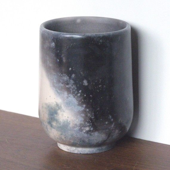 // sawdust fired cup from my new gift guide for Etsy: http://www.etsy.com/blog/en/2011/gift-guide-for-the-broken-ones/
