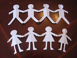 Martin Luther King, Jr. Day Paper Doll Craft | Naturally Educational