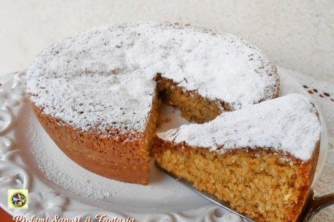 Torta con farina di mandorle cocco senza burro