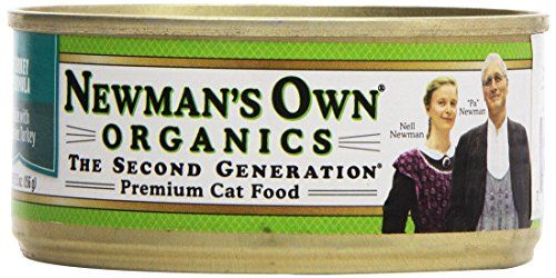 Newmans Own Organic Cat Food Canned Turkey Formula 55 oz -- Learn more by visiting the image link.Note:It is affiliate link to Amazon.