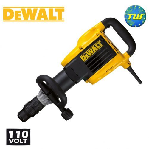 http://www.twwholesale.co.uk/product.php/section/10397/sn/DeWalt-D25899K-LX DeWalt's D25899K 10Kg SDS Max Demolition Hammer Breaker 110V is a powerful and durable corded machine with a 1500 Watt motor that delivers outstanding concrete breaking performance. The breaker's in-line design makes for better handling, while a quick change chisel adjustment allows fast orientation of the chisel through 12 pre-set positions.