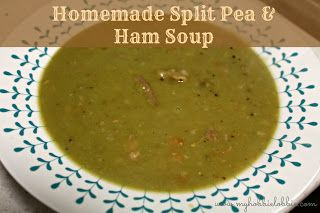 The Aspiring Home Cook: Homemade Split Pea and Ham Soup