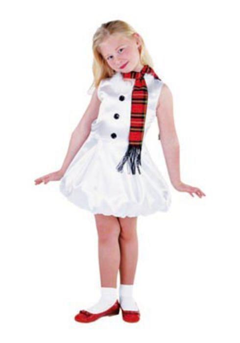 Snow girl kids with sash - Las Fiestas