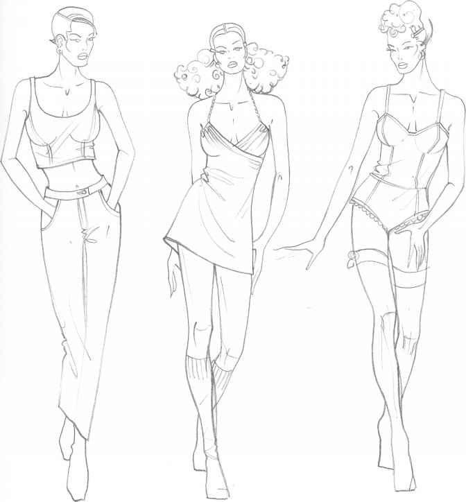 Draw Fashion Design