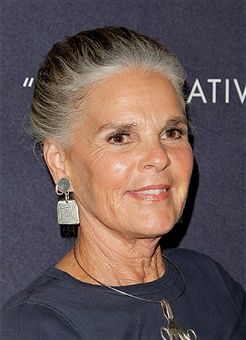 Ali MacGraw attends the curtain call for 'Love Letters' at Wallis Annenberg Center for the Performing Arts on October 14, 2015 in Beverly Hills, California.