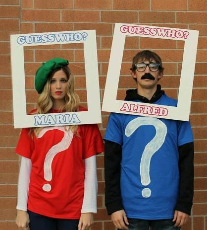 17 clever couples costumes that actually dont suck realclear - Clever Women Halloween Costumes