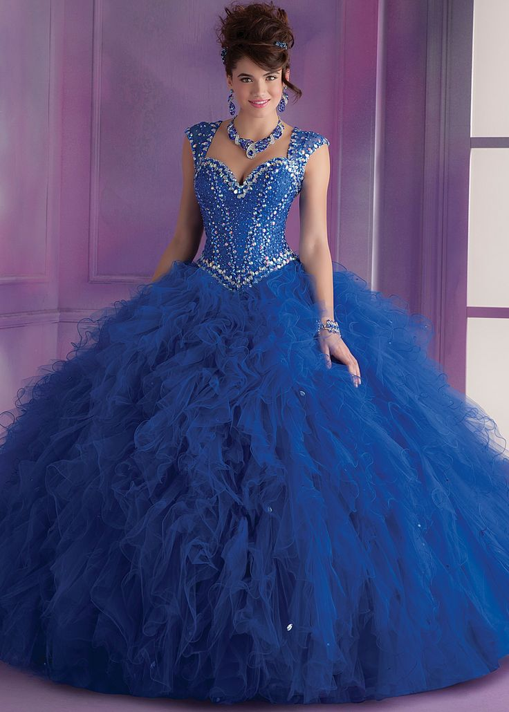 Mori Lee 89014 Beaded Quinceanera Dress Sleeve Dark