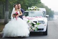 A white wedding limo used to be the standard, but today the options for wedding transportation are unlimited. Here are some ideas for a fancy ride with fun wedding limo choices.