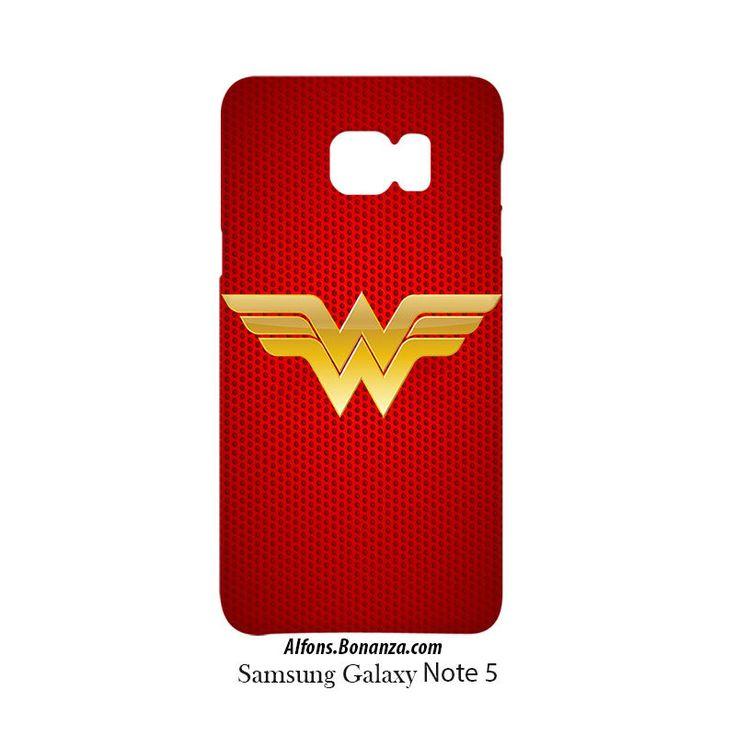 Wonder Woman Logo Samsung Galaxy Note 5 Hardshell Case