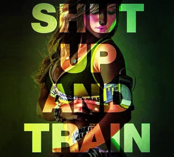 Shut up and train!