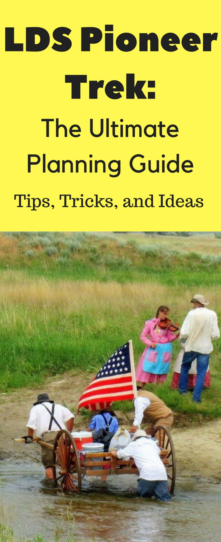 Mormon Pioneer Trek Ideas: The Ultimate Planning Guide Are you or your kids going on a Mormon Pioneer Trek? This post will help you find the best places fo