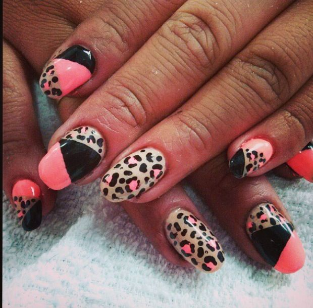 Animal Print Toe Nails | www.imgkid.com - The Image Kid ...