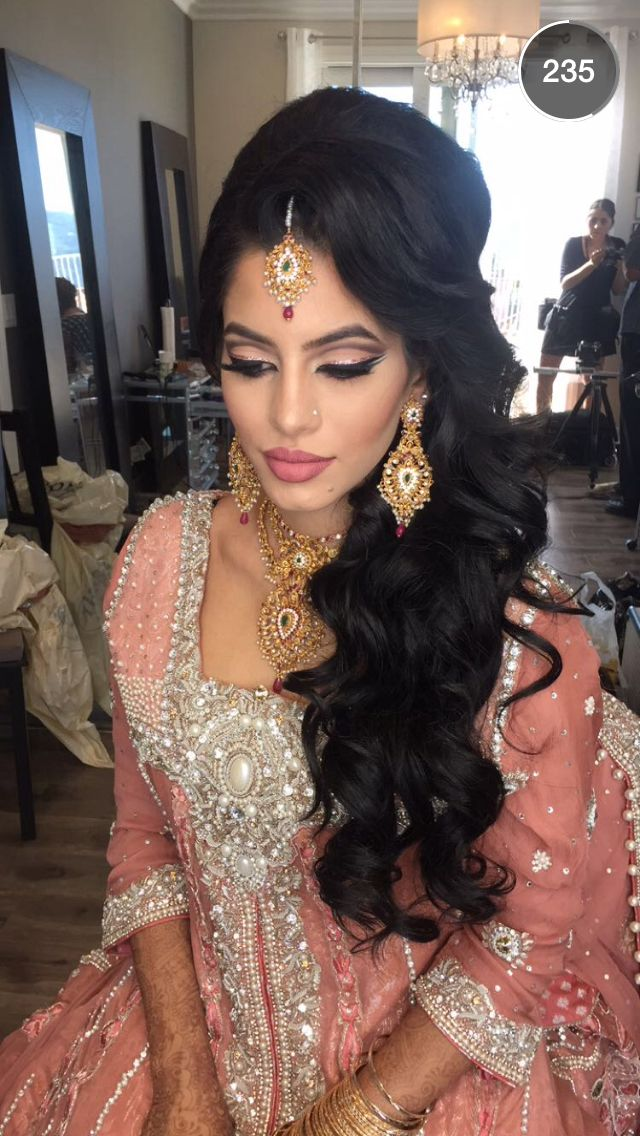 Best 25 Indian wedding hair ideas only on Pinterest Indian