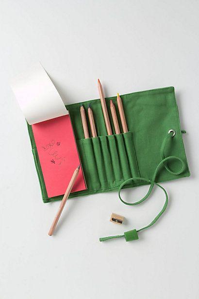 Canvas Pencil Roll