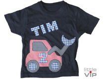 T-Shirt Bagger und Name