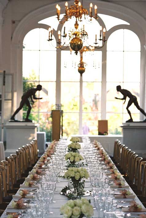 The Orangery Gallery Table Top Settings Wedding Venues Wedding