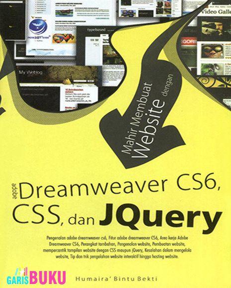 190 best dreamweaver images on pinterest adobe dreamweaver mahir membuat website dengan adobe dreamweaver cs6 css jquery fandeluxe Image collections