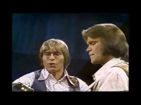 Glen Campbell & John Denver - DON'T IT MAKE YOU WANT TO GO HOME - YouTube.