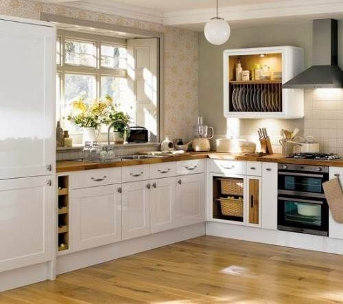 Kitchen layout ideas shaped designs small kitchens fitted for Small fitted kitchens