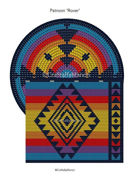 CraftsbyManon: Mochila bag - Rover