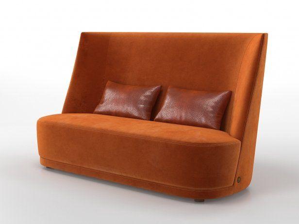Vivien High Sofa 3d Model By Design Connected High Sofas Sofa Design