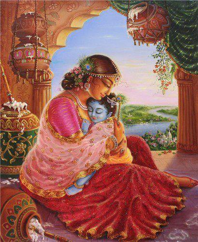 Baby Krishna mine monkey carnation belly flower