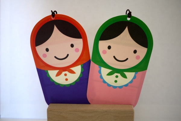 Matryoshka Doll Luggage/Bag Tag