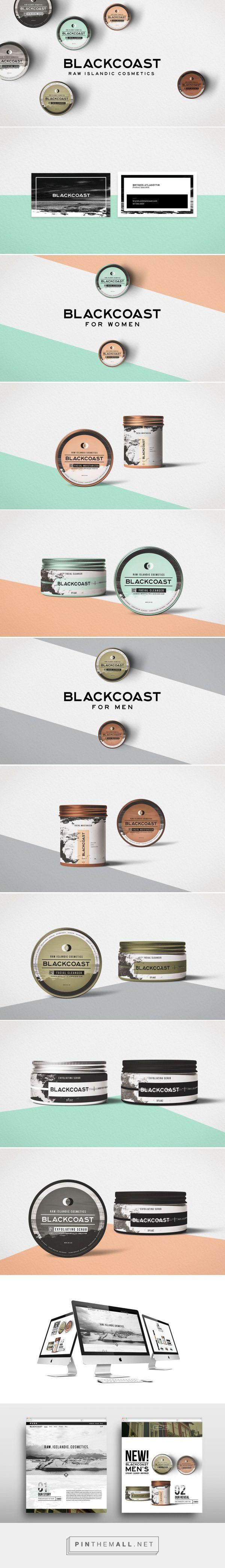 Blackcoast Raw Islandics Cosmetic Branding and Packaging by BADD Design | Fivestar Branding Agency – Design and Branding Agency & Curated Inspiration Gallery