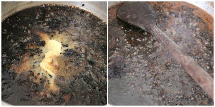 Rosbife de Panela - Finalizando o Molho Ferrugem
