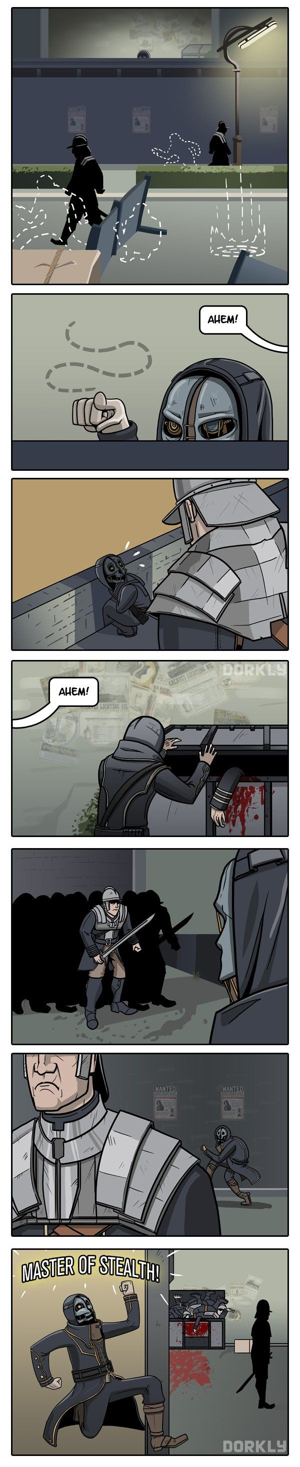 The Master of Stealth: Dishonored-Style via Reddit user PoorMr