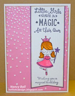 CTMH Birthday Princess on Nancy's CRAFTY blog