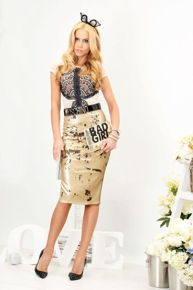 Bodysuit Glamour - Baronesa Fashion House