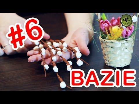 Kwiatki z bibuły #6 - bazie - YouTube