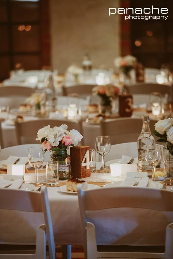 Sweet reception details. Photo by Panache Photography.