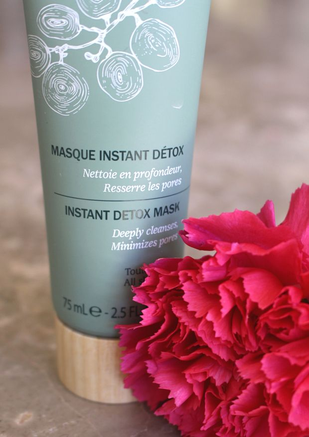 Caudalie Instant Detox Mask, perfect for rejuvenating the skin!