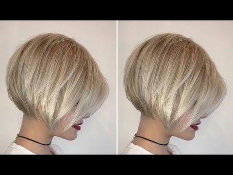 How To Cut a Short Graduated Bob Haircut tutorial - YouTube | Graduated bob haircuts, Short ...