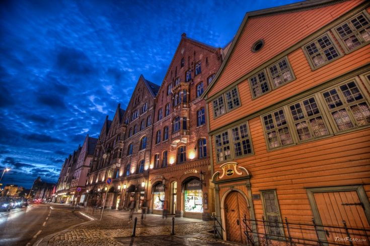 The blue hours of Bergen