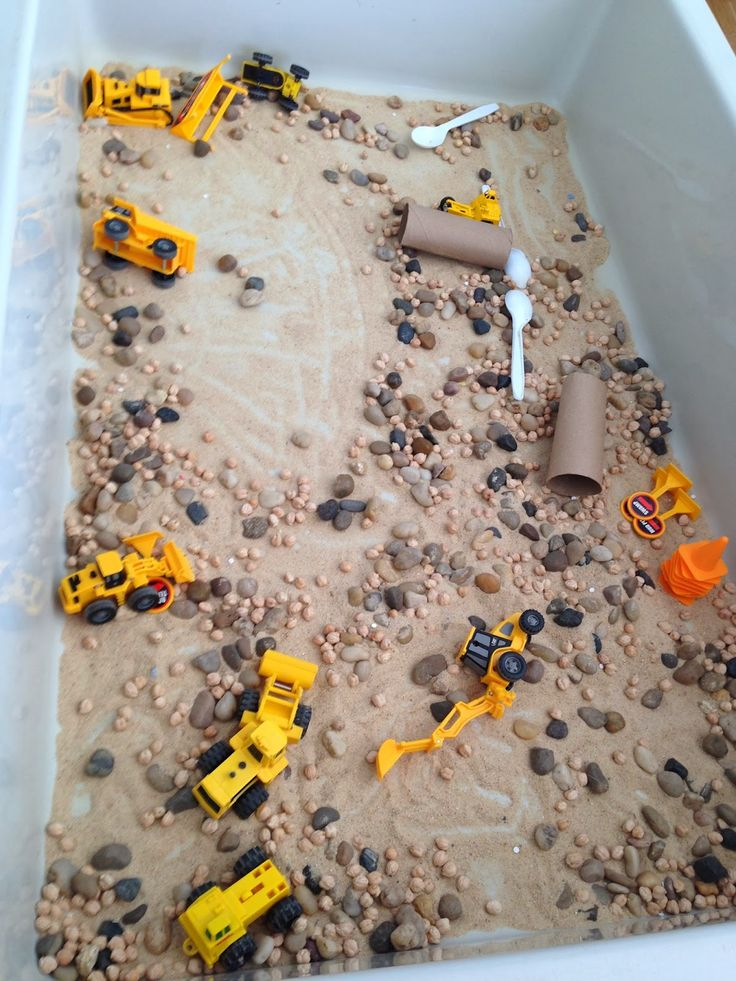 Construction themed activities for preschool and pre-k