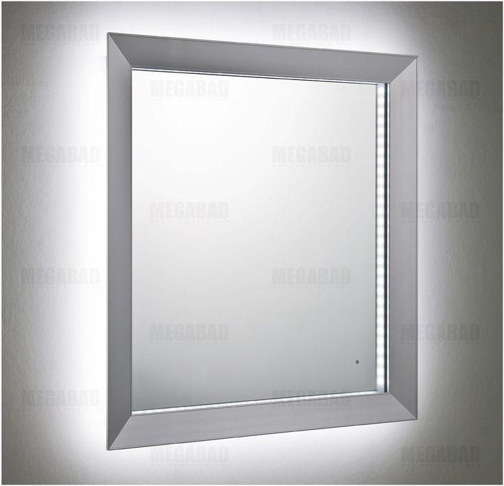 Architekt 100 ALUMINI Spiegel 50 x 60 cm - MEGABAD