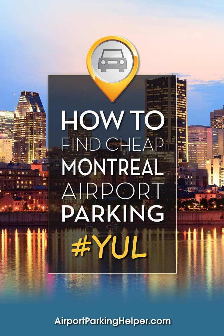 Expert Montreal airport parking ideas that net easy savings. Click and read tips, compare rates and book online quickly. AirportParkingHelper.com teaches multiple ways to find cheap YUL parking rates, Montreal airport parking coupons & deals - ideal for those planning a cruise, Disney vacation, babymoon, honeymoon, wedding or other travel. Follow us on Pinterest to find other great budget travel tips like free things to do in New York, Chicago, LA and beyond!